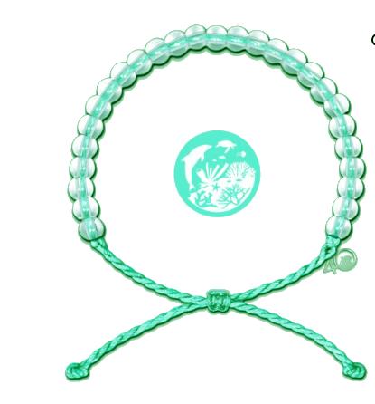 4Ocean Recycled Sea Turtles Bracelet