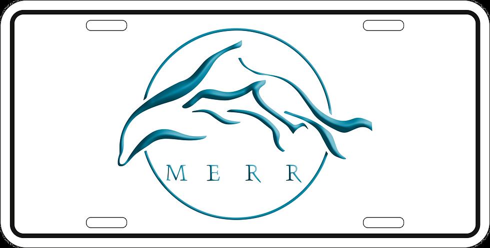 MERR Front license plate