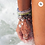 Thumbnail: 4OCEAN RECYCLED WHALES BRACELET