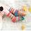 Thumbnail: Saffron Crew Cut Solmate Socks