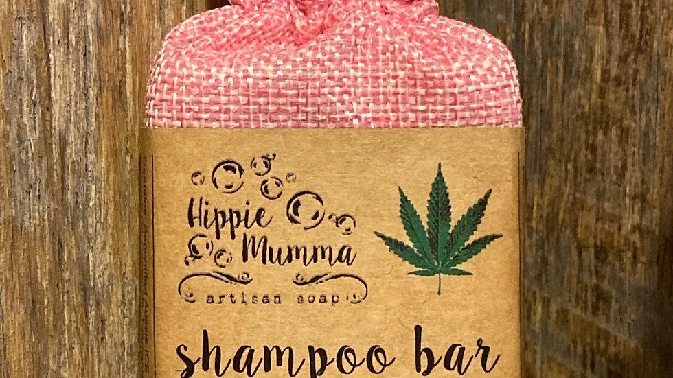 He*mp & Beer Shampoo Bar - Patchouli & Geranium