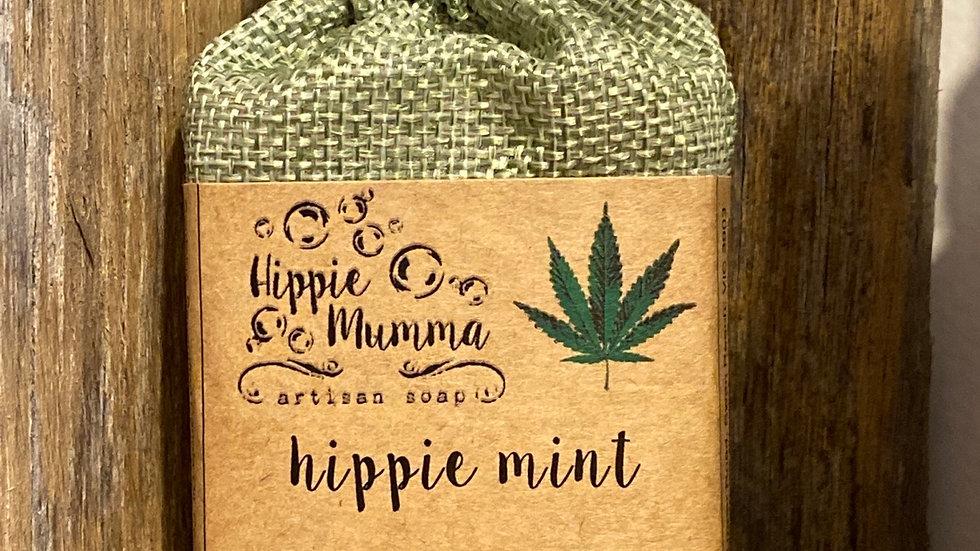 Hemp & Beer Shampoo Bar - Hippie Mint