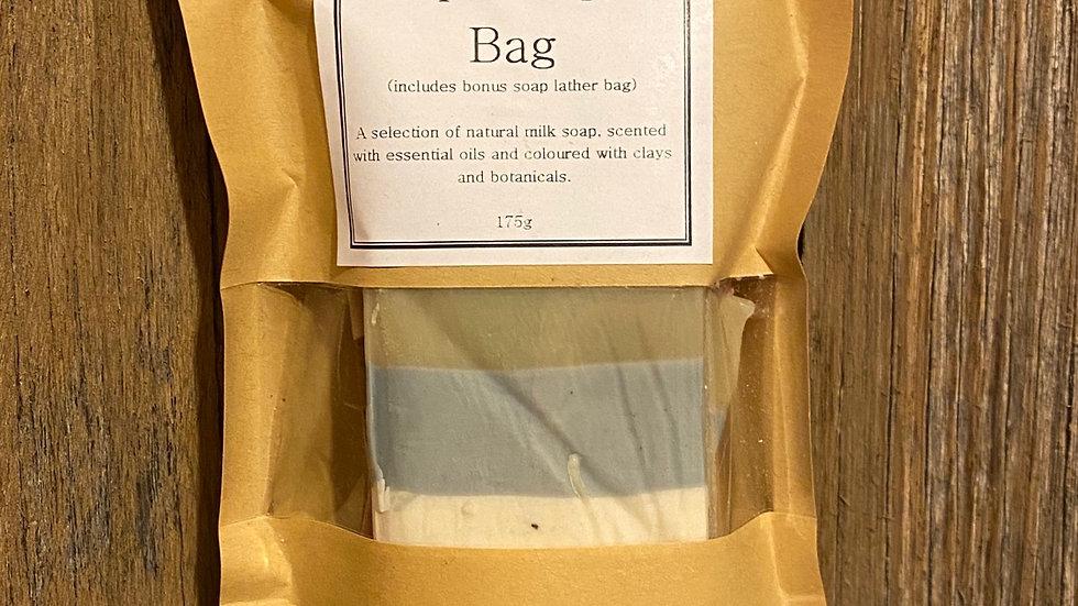 Natural Milk Soap Sampler/Travel Bag
