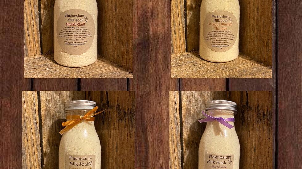Magnesium Milk Soak