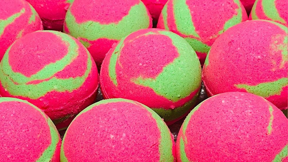 Hot Pink Lime Buttermilk Bath Bomb