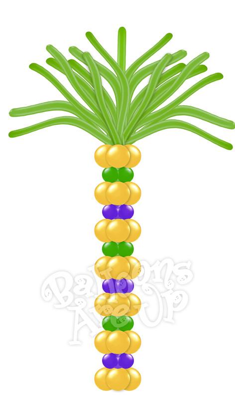 Palm Tree Column Style #2