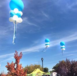 3 Cluster Balloon Kites