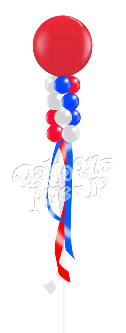 4 Cluster Balloon Kite - $68