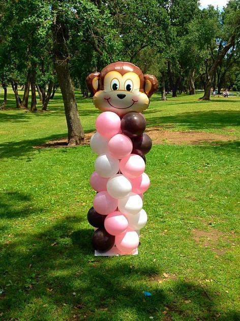 6 Foot Monkey Column