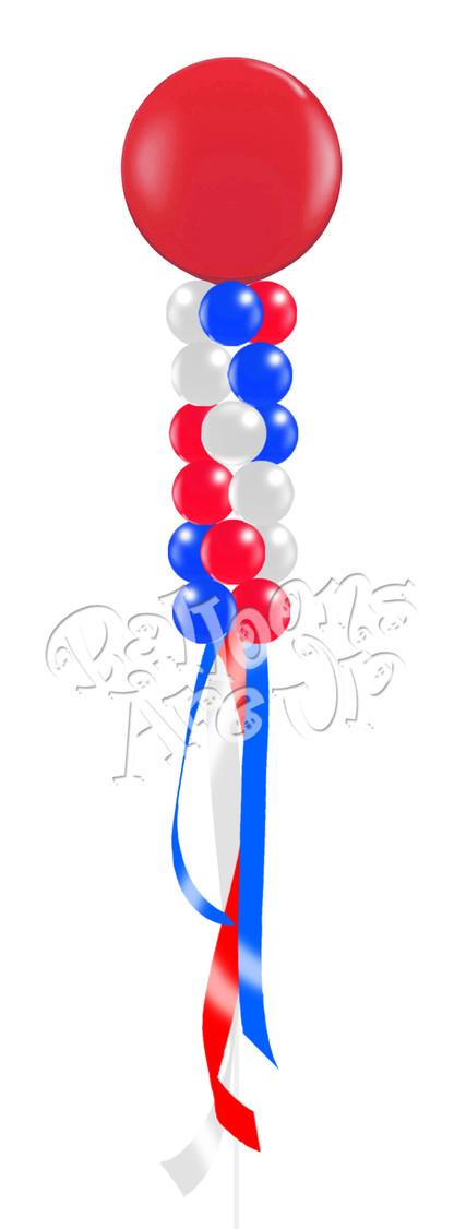 6 Cluster Balloon Kite - $84