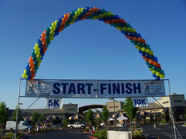 35 Foot Start/Finish Line Arch