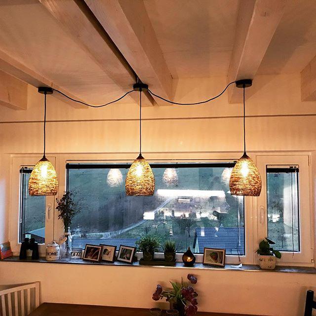 Immer noch sooooooooooo verliebt in diese Lampe Marke Eigenbau 💕_Passt perfekt zu uns _#iichanging