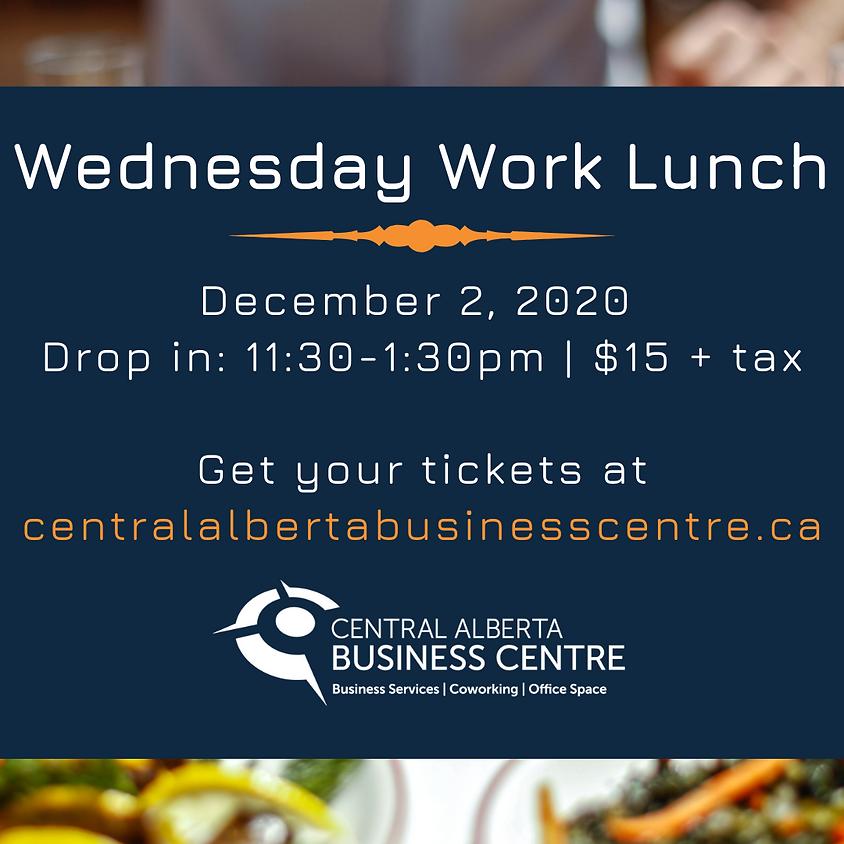 December - Wednesday *Work Lunch