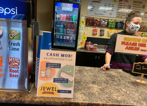 Jewel Theatre gets 'mobbed'