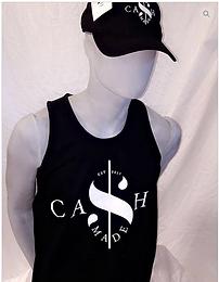 Cash Made Men's Tank - Black/White