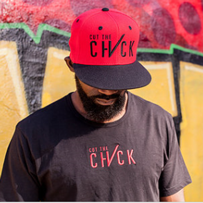 Cut the Check Tee - Black/Red
