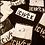 Thumbnail: Cut the Check Signature Tee - Black/White