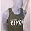 Thumbnail: Cut The Check Men's Tank - White/Grey
