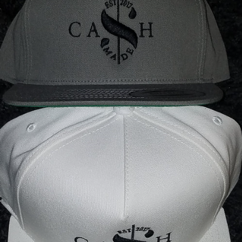 Cash Made Snapback - Grey/Black