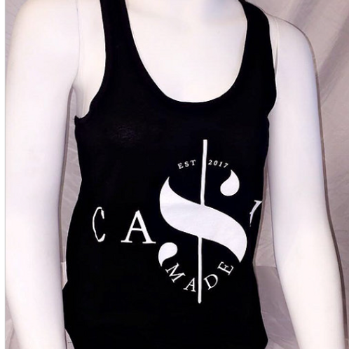 Cash Made Women's Tank - Black/White