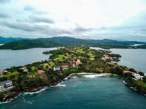 Punta Fuego Aerial Shot