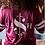 Thumbnail: Cash Made Women's Jersey - Burgundy/White