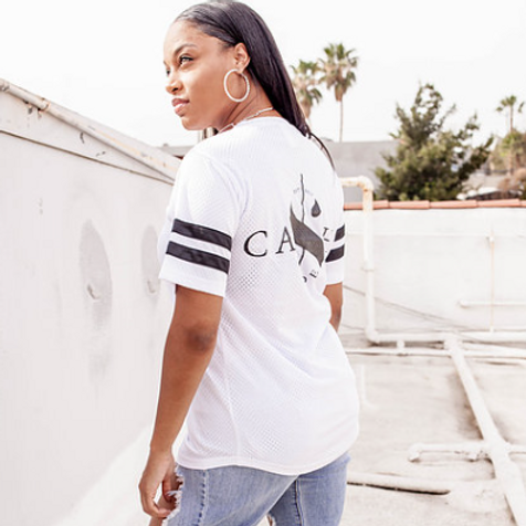 Cash Made Women's Jersey - White/Black