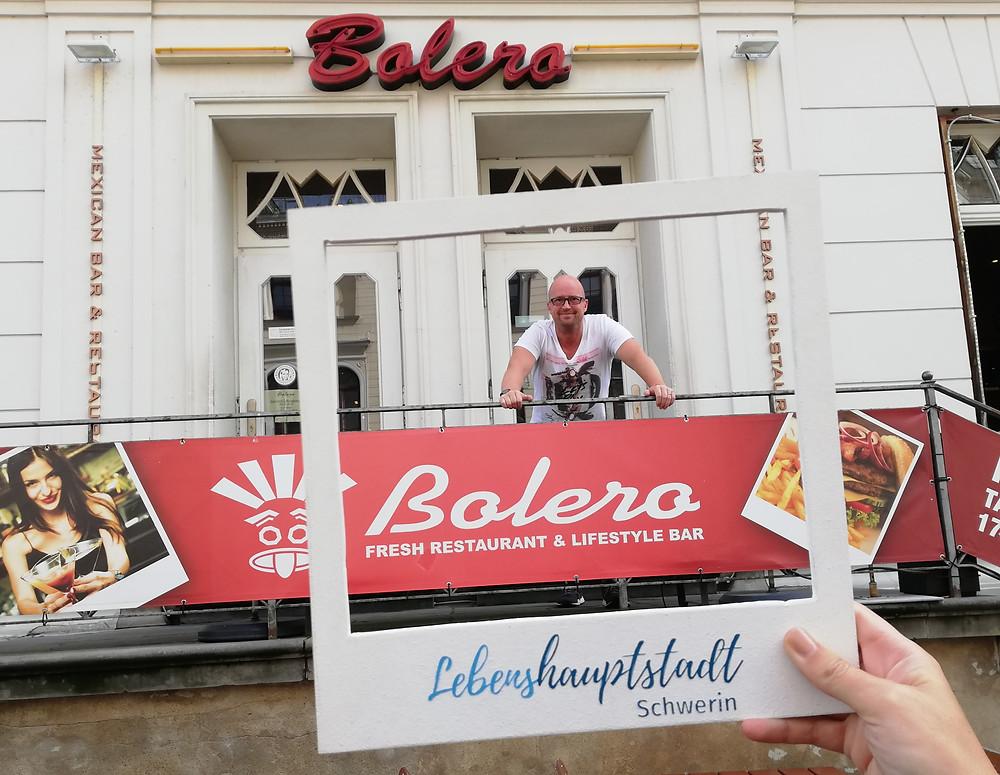 """""""Am Wasser bin ich direkt im Urlaub."""" - Donald Wieck, Geschäftsführer Bolero Schwerin"""