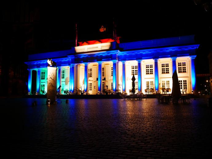 Erste Lichternacht in Schwerin