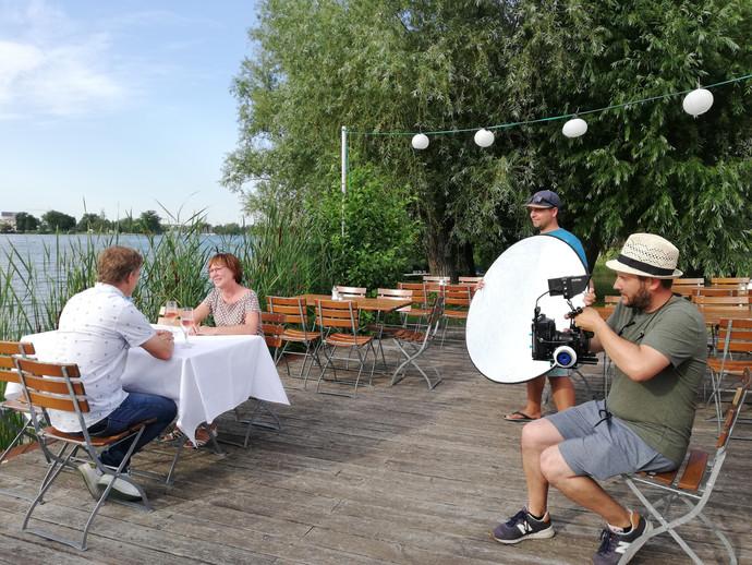 Dreharbeiten in Schwerin