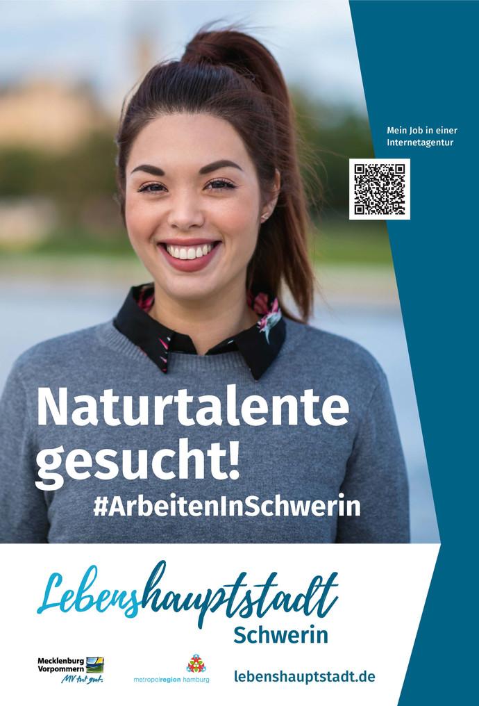 """""""Naturtalente gesucht"""": Schwerin wirbt für das Arbeiten in der """"Lebenshauptstadt&quot"""