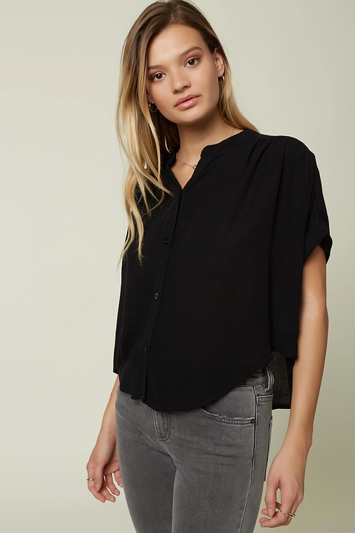 O'NEILL Shelly Button Up Top