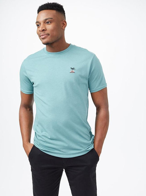 Tentree Palm Sunset Embroidery Tee
