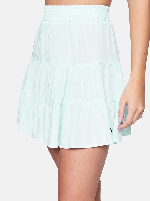 HURLEY Tiered Mini Skirt