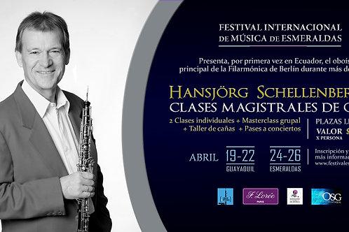 Masterclass Schellenberger Guayaquil 19-22 Abril