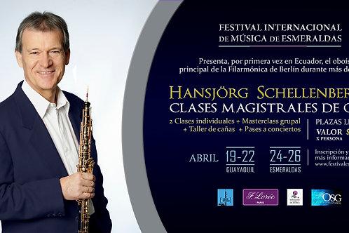 Masterclass Schellenberger Esmeraldas 24-26 Abril