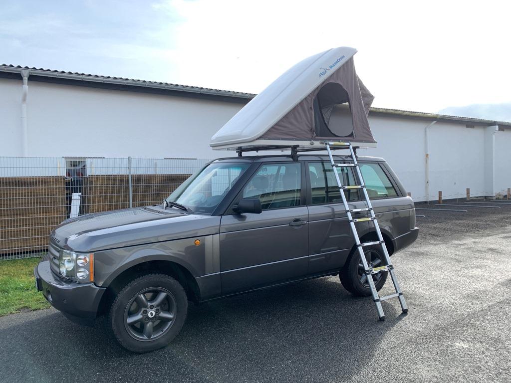 Range Rover mit Dachzelt mieten