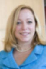 Tracy C. Lemmon in sky blue suit