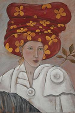 Femme en voyage