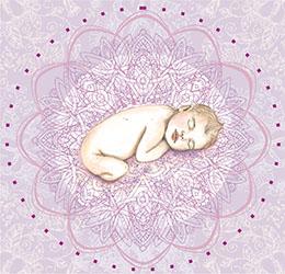 bébé mandala