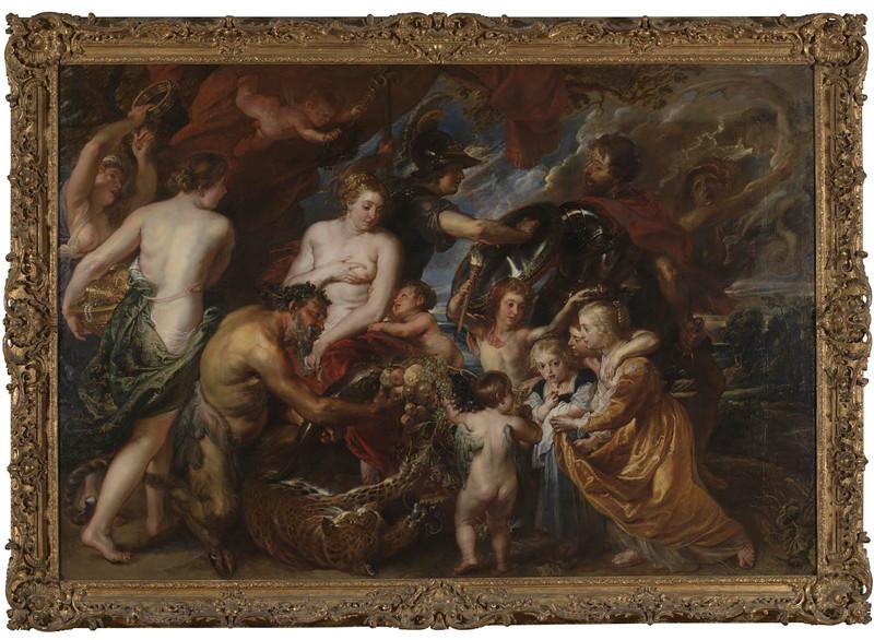 Rubens, Paix, Peinture