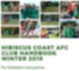 2019 Club Handbook front page for websit