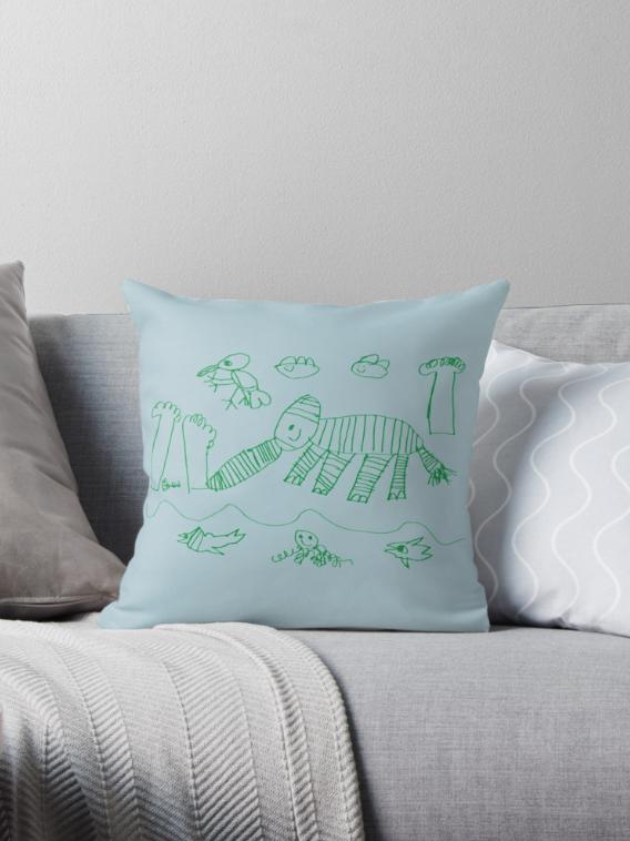 Elephant Landscape_cushioncover