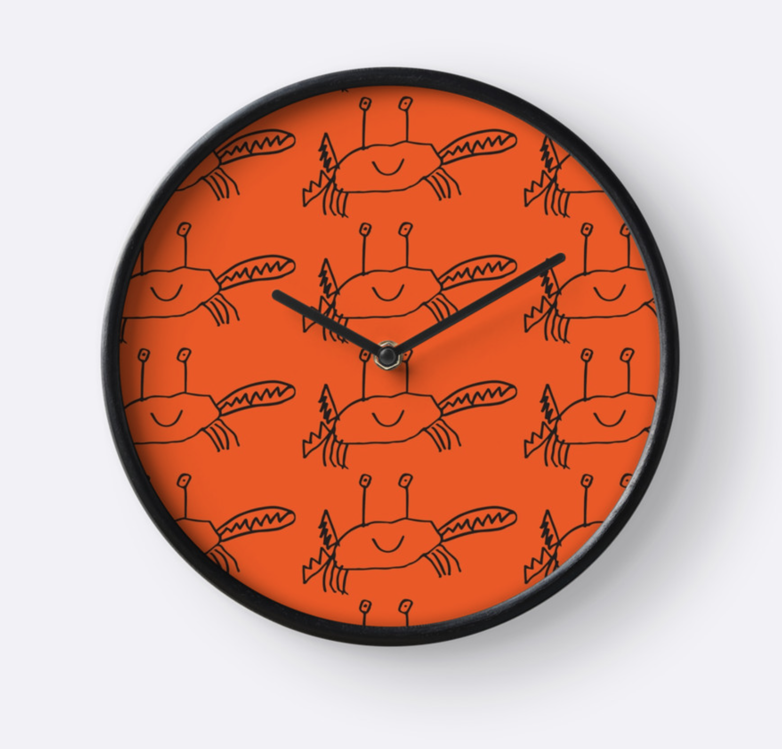 Crawling Crab_clock