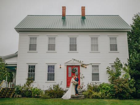 Modernizing a vintage barn wedding...