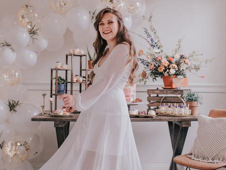 Rose Tinted Bridal Shower