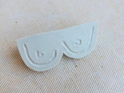 Boobie Pin/Curious Clay