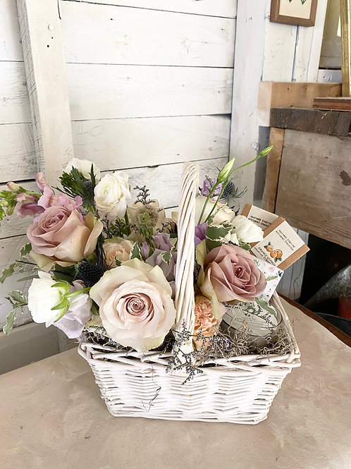 Classic Flowering Basket