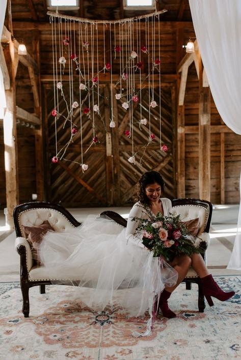 Natalia Provencher, wedding flowers