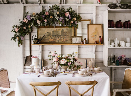 How to Host an Intimate Dinner Party...in your garage!